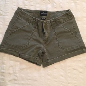 Eagle cotton stretch shorts